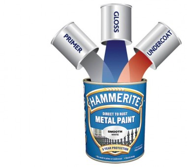 Hammerite 3 cans